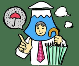 office workers, Mt.Fuji Takeru sticker #89306