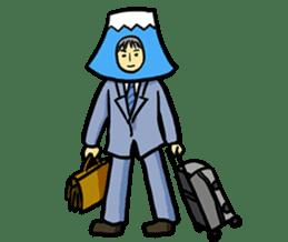 office workers, Mt.Fuji Takeru sticker #89308
