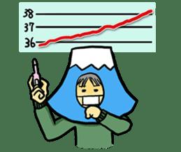 office workers, Mt.Fuji Takeru sticker #89311
