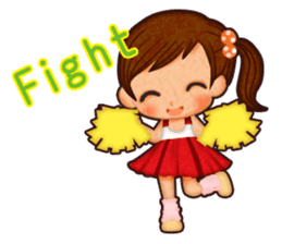 Kayo's Characters sticker #89322