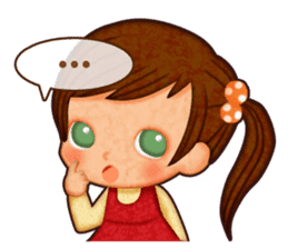 Kayo's Characters sticker #89355