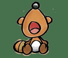tanu-tanu sticker #89413