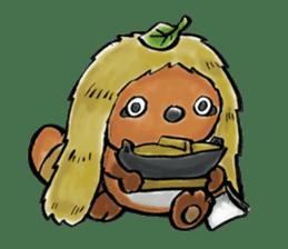 tanu-tanu sticker #89434