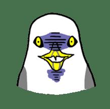 Kawaii Japanese Birds sticker #89798