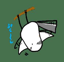 Kawaii Japanese Birds sticker #89799