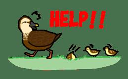 Kawaii Japanese Birds sticker #89803