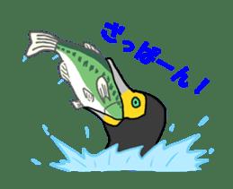 Kawaii Japanese Birds sticker #89804