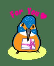 Kawaii Japanese Birds sticker #89805