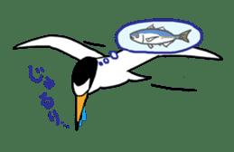 Kawaii Japanese Birds sticker #89812