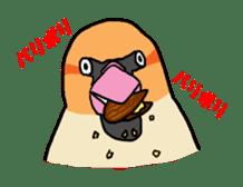 Kawaii Japanese Birds sticker #89817