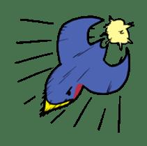Kawaii Japanese Birds sticker #89824