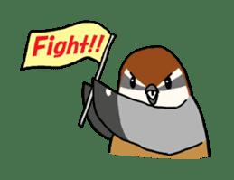 Kawaii Japanese Birds sticker #89833