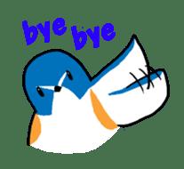 Kawaii Japanese Birds sticker #89835