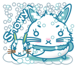 USAMAN(rabbit shaped sweet)Colorful Ver. sticker #89915