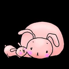 Kagamimochi rabbit