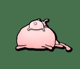 Kagamimochi rabbit sticker #90559