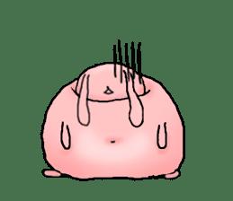 Kagamimochi rabbit sticker #90564