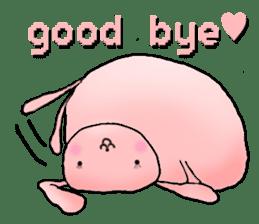 Kagamimochi rabbit sticker #90573