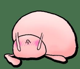 Kagamimochi rabbit sticker #90589