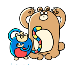 Zoo Attack!! with Supy sticker #90800