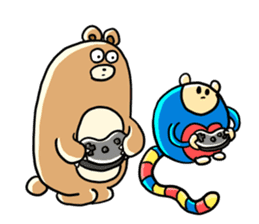 Zoo Attack!! with Supy sticker #90806