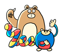 Zoo Attack!! with Supy sticker #90810