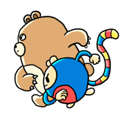 Zoo Attack!! with Supy sticker #90825