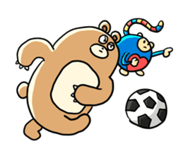 Zoo Attack!! with Supy sticker #90833