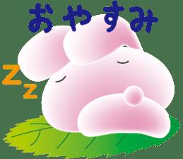 mochi-usagi sticker #90877