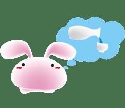 mochi-usagi sticker #90914