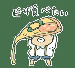 food bear sticker #90926