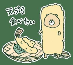 food bear sticker #90928