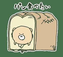 food bear sticker #90930
