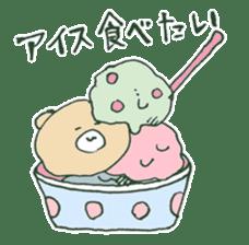 food bear sticker #90935