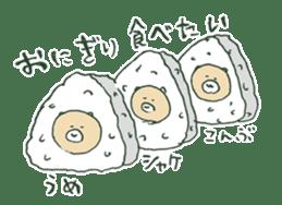 food bear sticker #90937