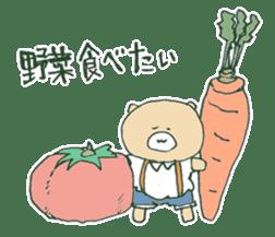 food bear sticker #90939