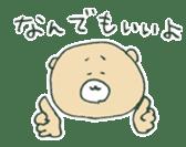food bear sticker #90949