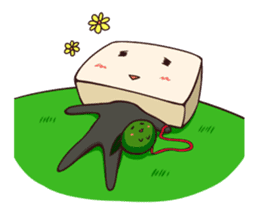 Tofu-kun sticker #91288