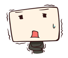 Tofu-kun sticker #91290