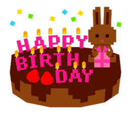 Chocolate Bunny Pulpy sticker #91413