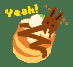 Chocolate Bunny Pulpy sticker #91416