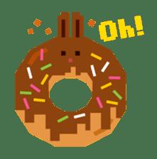 Chocolate Bunny Pulpy sticker #91419