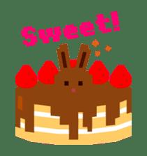 Chocolate Bunny Pulpy sticker #91422