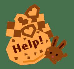 Chocolate Bunny Pulpy sticker #91435