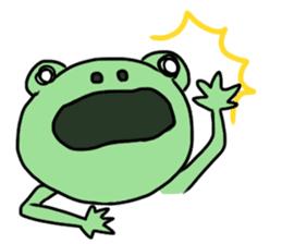 Andre of frog sticker #91652