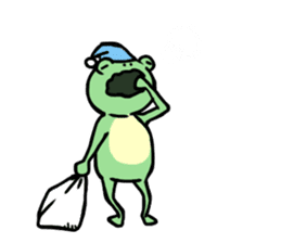Andre of frog sticker #91660