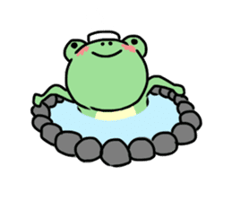 Andre of frog sticker #91671