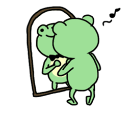 Andre of frog sticker #91672