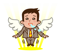 Fight! Businessman Anko. sticker #92115