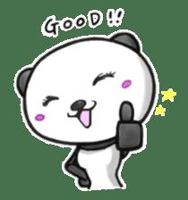 SHAREPAN of stylish panda sticker #92516